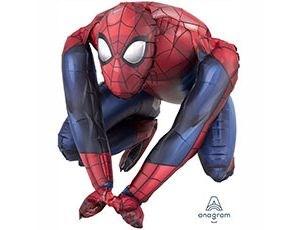 Шар фольга Фигура Человек-Паук сидячий A75 возд (An)