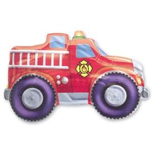 Шар фольга Фигура Автомобиль пожарный P30 (An)