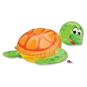 Шар фольга Фигура Глупая морская черепаха P40 (An)