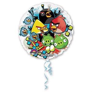 Шар фольга Фигура Джамбо/КРИСТАЛ Angry Birds P30 (An)
