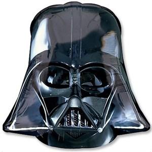 Шар фольга Фигура Звездные Войны Шлем Вейдера P40 (An)