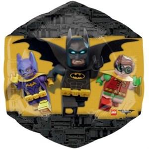 Шар фольга Фигура Лего Бэтмен P38 (An)