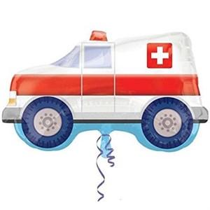 Шар фольга Фигура Машина Скорая Помощь P35 (An)