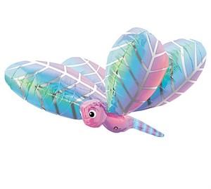 Шар фольга Фигура Стрекоза голубая P40 (An)