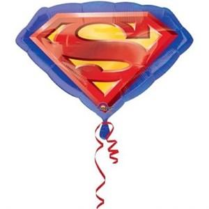 Шар фольга Фигура Супермен эмблема P38 (An)