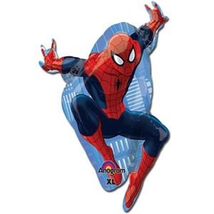 Шар фольга Фигура Человек паук в прыжке P35 (An)