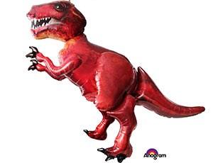 Шар фольга Фигура Ходячий Динозавр Тираннозавр P90 (An)