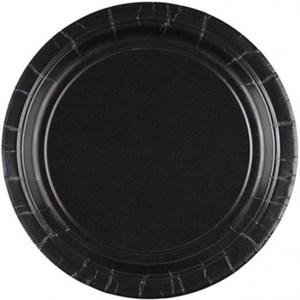 Тарелка Jet Black 17см 8шт.