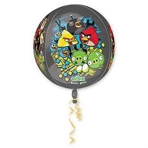 "Шар фольга 3D СФЕРА 16"" Angry Birds G40 (An)"