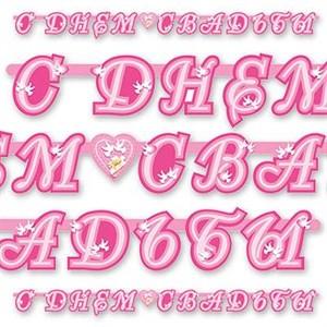 Гирлянда буквы С Днем Свадьбы Лилия 225см
