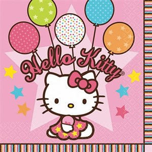 Салфетка Hello Kitty 33см 16шт