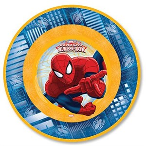 Тарелка Человек-Паук 17см 6шт