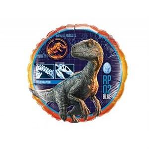 """Шар фольга 18"""" Парк Юрского Периода Динозавр (QL)"""