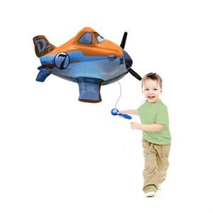 Шар фольга Фигура Самолет с пультом P85 (An)
