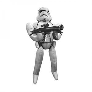 Шар фольга Фигура Ходячий Звездные Войны Штурмовик P90 (An)