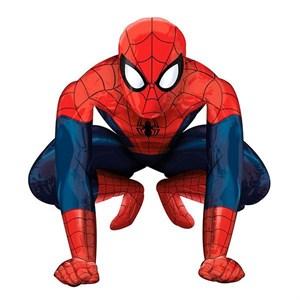 Шар фольга Фигура Ходячий Человек паук P90 (An)
