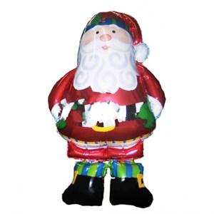 Шар фольга Фигура Ход Санта в сапогах P75
