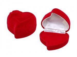 """Футляр под кольцо """"Сердце, роза"""" SL"""