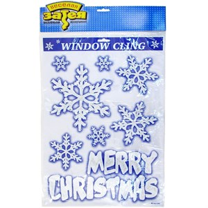 Наклейка на окно HNY 8шт