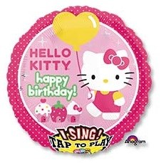 Шар фольга Фигура Джамбо Муз HB Hello Kitty P75 (An)
