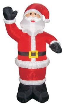"""Фигура надувная с подсв. """"Дед Мороз приветствует"""" 150см"""