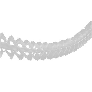 Гирлянда бум Декор белая 3,6m /G